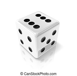 white win dice