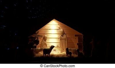 Holy Night With Star Lights