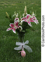 Easter lillies - An beautiful arrangement of Easter lillies...