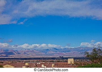 Las Vegas Neighborhood - An image of a Las Vegas Nevada...