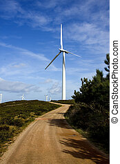 wind turbine, ecology and renewable energy