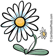 Daisy - Cartoon Daisy.