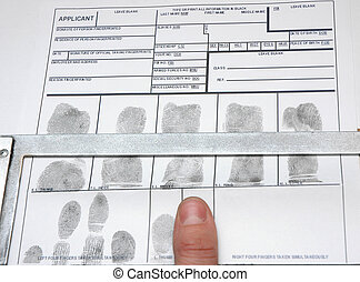 taking off the fingerprints on id card