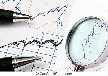 Analyzing bussiness grapgic - Background of analyzing...