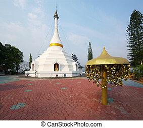 Wat Phra That Doi Kong Mu temple in Mae Hong Son, Thailand