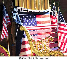 July 4th holiday celebration. - July 4th parade celebration...