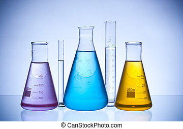 laboratory glassware - chemical laboratory glassware...