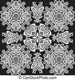 Celtic pattern.
