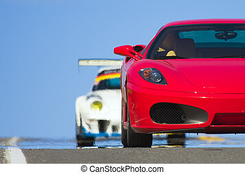 sports cars - racing sports cars