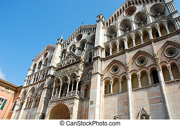 The cathedral city of Ferrara - Italy