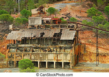 Old mine, Andalusia.