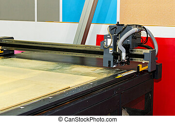 CNC machine - Very precise CNC wood cutting router machine