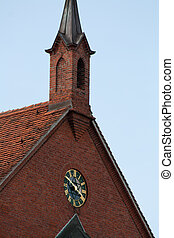 church spire - piece of a church spire