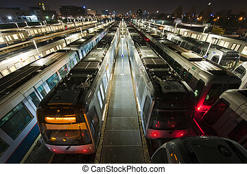 列車, ターミナル