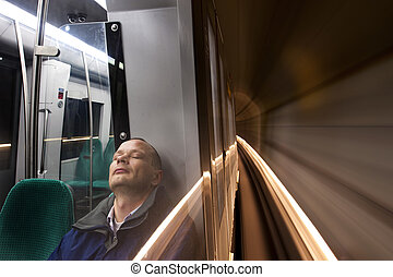 乗客, 睡眠