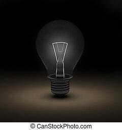 3d render of bulb