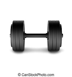 3d render of dumbell