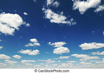 clouds - blue sky