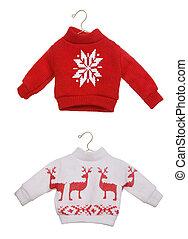 navidad, suéteres