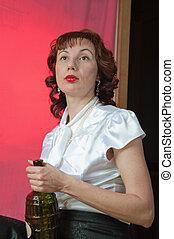 Russian Adult Woman - Beautiful young adult Russian woman...