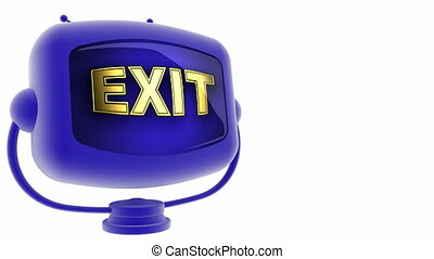 exit on loop alpha mated tv