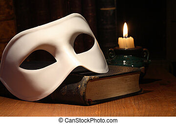 Mask On Book