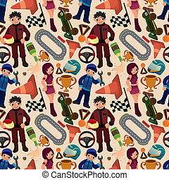 seamless f1 pattern