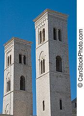 Belltowers. Molfetta. Apulia.