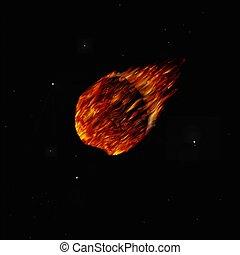 Comet - illustration of a Comet