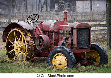 old farm truck in the country