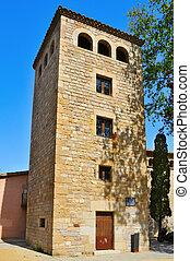 La Talaia, in Hospitalet de Llobregat, Spain - view of La...
