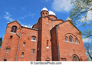 Finland Lappeenranta Cathedral - Lutheran Cathedral in the...