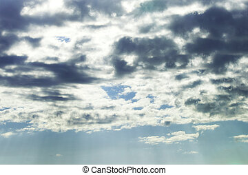 cloudy sky - cloudy dark sky close background