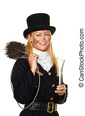 Chimney sweep.