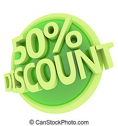 discount button