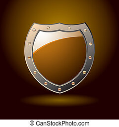 Secure shield blank