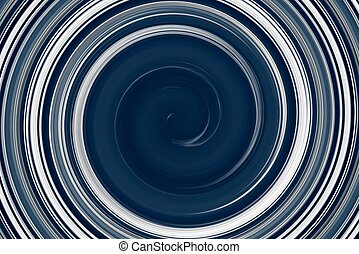 Blue and white spiral cloudgraphic - graphic design of blue...