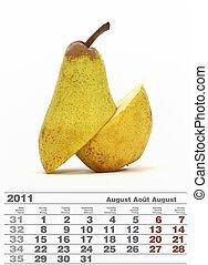 2011 august calendar