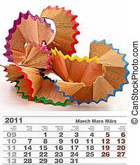 2011 march calendar