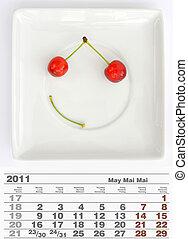 2011 may calendar