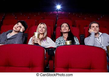 At cinema