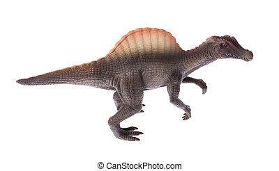 spinosauraus dinosaur - A model of Spinosaurus aegyptiacus...