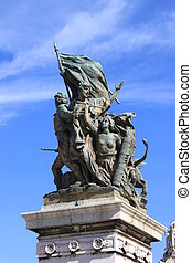 Victory Statue in Rome Italy