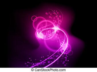 purple spiral