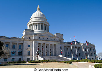 Arkansas State Capitol - State senate building in Little...