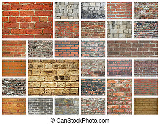 Brick Walls - Various brick walls