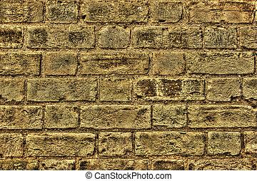 Brickwork - Grungy old brickwork