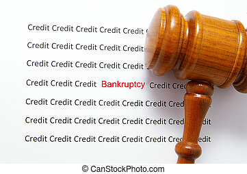 mauvais, crédit, text(, faillite, ), légal,...