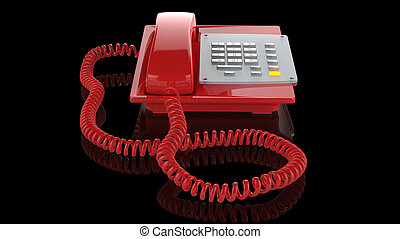 Emergency red phone