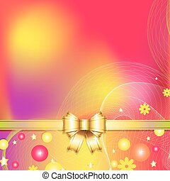 colorful abstract background with b